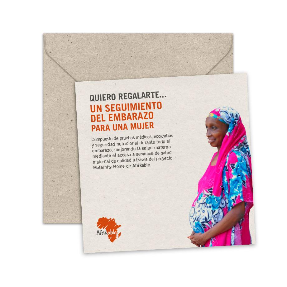 Tarjeta de regalo - Kit de seguimiento de embarazo