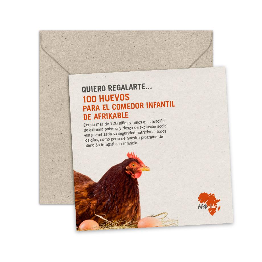 Tarjeta de regalo - Acceso a Nutrición Básica (Huevos)