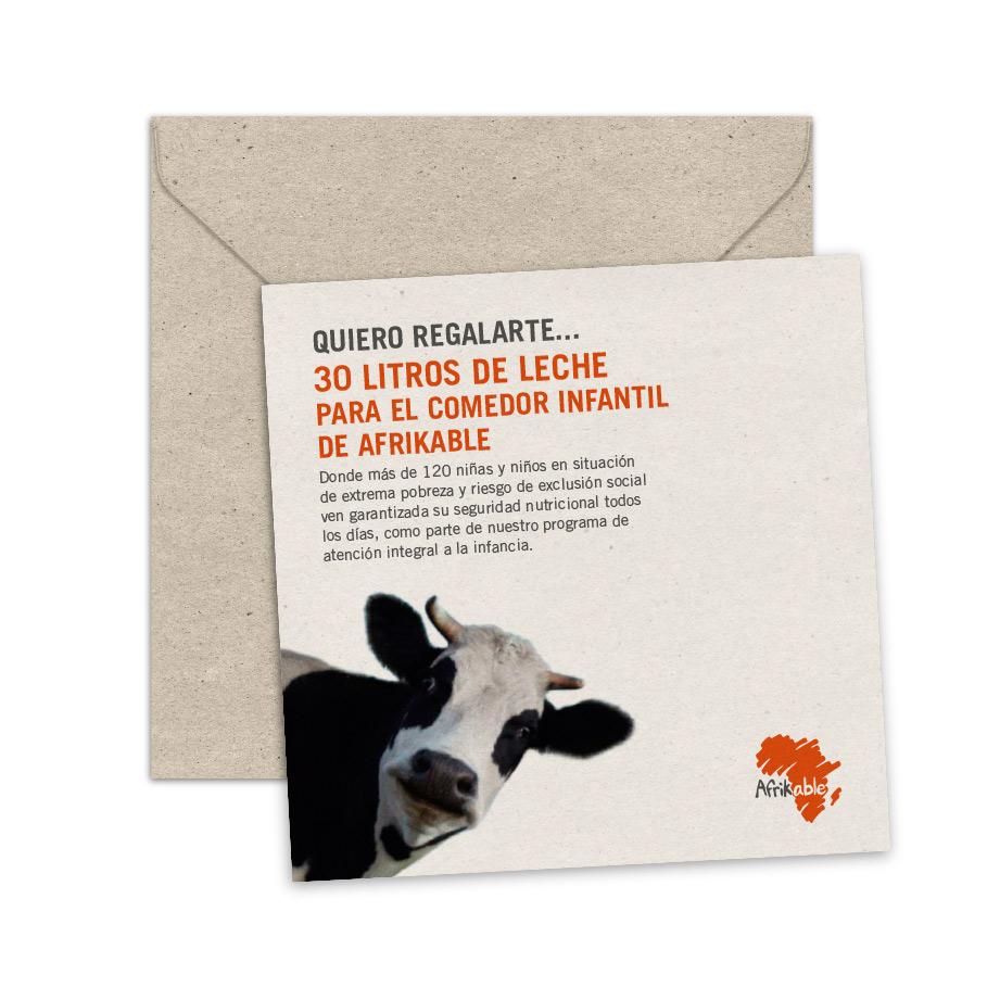Tarjeta de regalo - Acceso a Nutrición Básica (Leche)