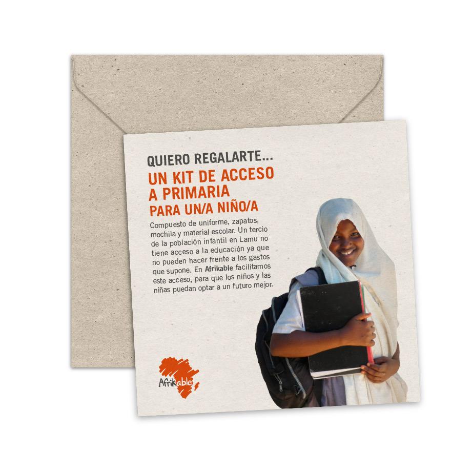Tarjeta de regalo - Kit de acceso a Primaria