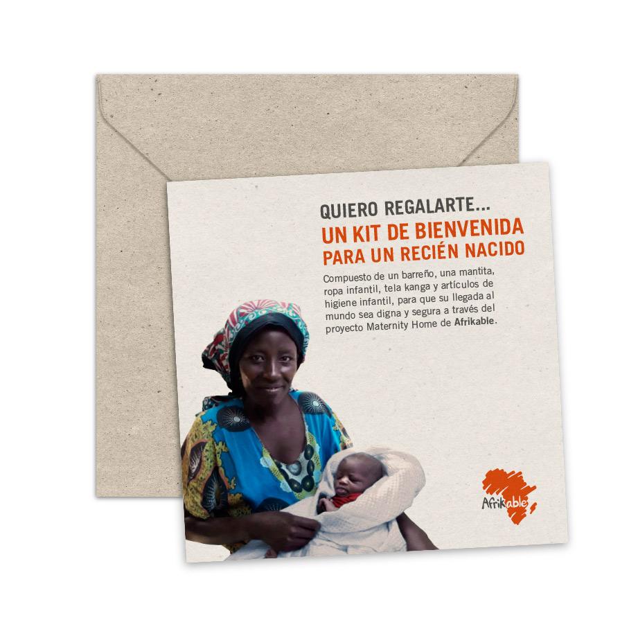 Tarjeta de regalo - Kit de bienvenida para un recién nacido