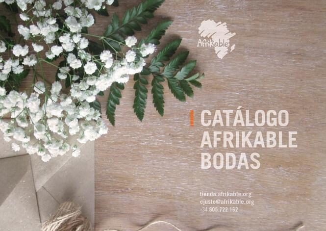 Catálogo Afrikable Bodas