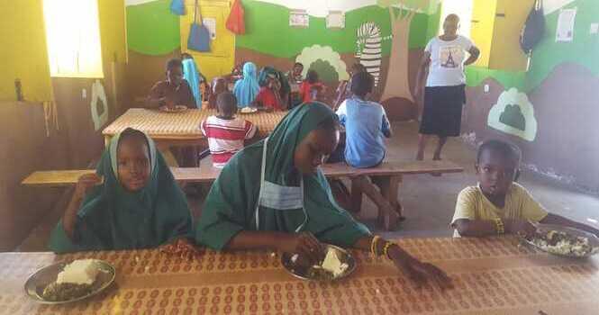 Comedor infantil gratuito de Afrikable